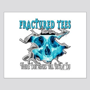 Fractured Tees Small Poster