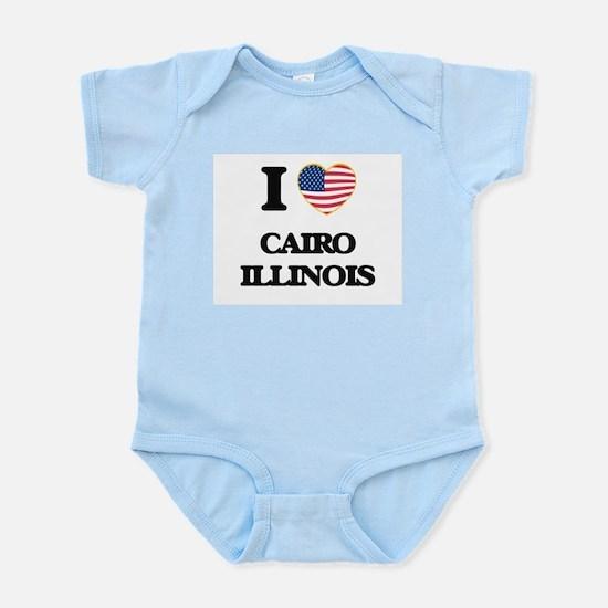 I love Cairo Illinois Body Suit