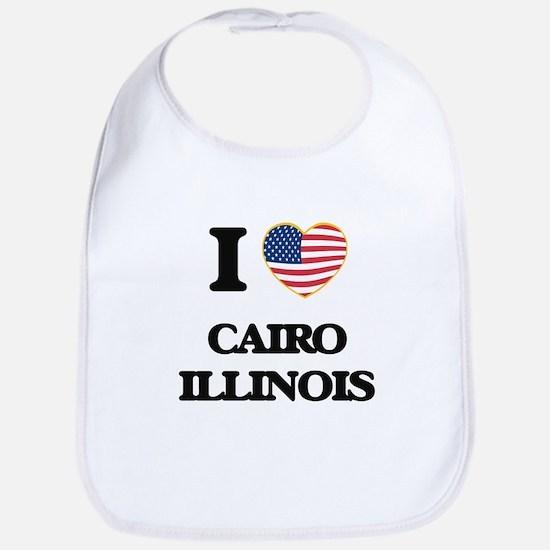 I love Cairo Illinois Bib
