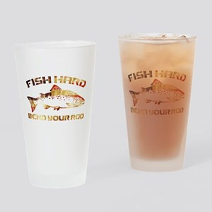 SALMON FISHING Drinking Glass