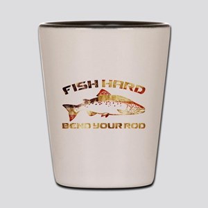 SALMON FISHING Shot Glass