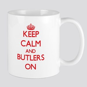 Keep Calm and Butlers ON Mugs