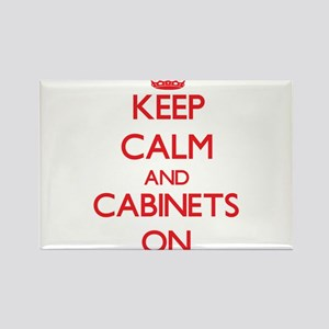 Keep Calm and Cabinets ON Magnets