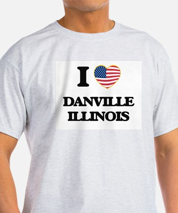 I love Danville Illinois T-Shirt
