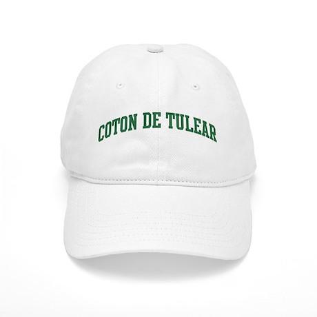 Coton De Tulear (green) Cap