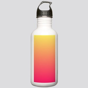 Fuchsia yellow ombre Stainless Water Bottle 1.0L
