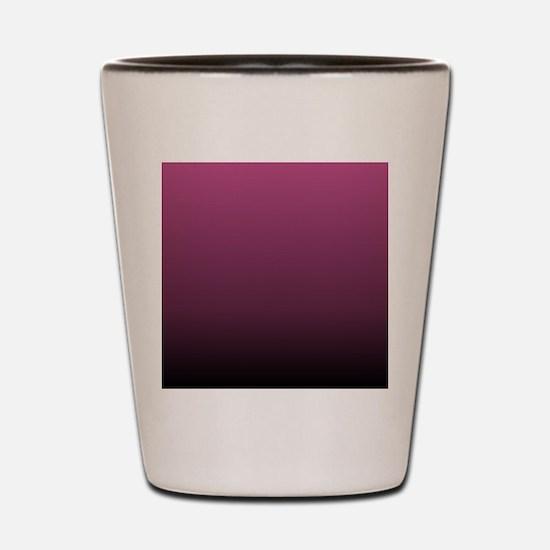 modern burgundy ombre Shot Glass