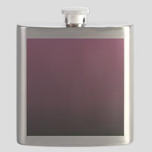 modern burgundy ombre Flask