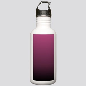 modern burgundy ombre Stainless Water Bottle 1.0L