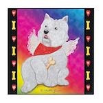 Happy Angel Tile Coaster