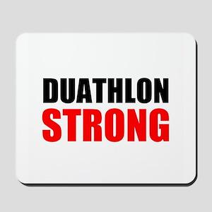 Duathlon Strong Mousepad