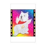Happy Angel Mini Poster Print