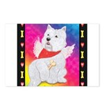 Happy Angel Postcards (Package of 8)