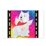 Happy Angel Postcards (Package of 8)