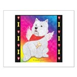 Happy Angel Small Poster