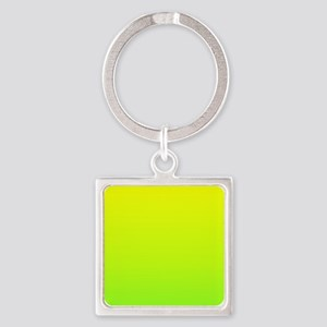 lime green yellow ombre Keychains
