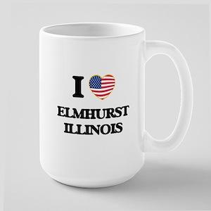 I love Elmhurst Illinois Mugs