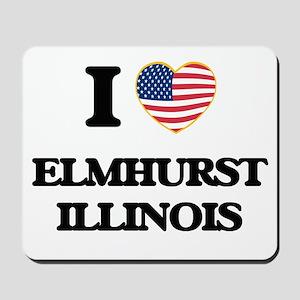 I love Elmhurst Illinois Mousepad