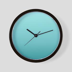 beach seafoam ombre Wall Clock