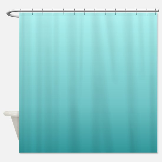 beach seafoam ombre Shower Curtain