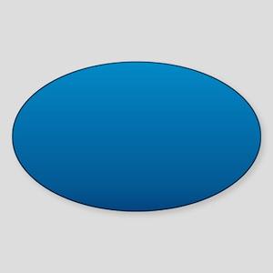 trendy ombre blue Sticker