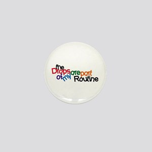 Routine Drops Mini Button