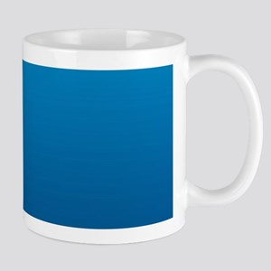 trendy ombre blue Mugs