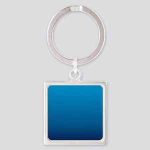 trendy ombre blue Keychains