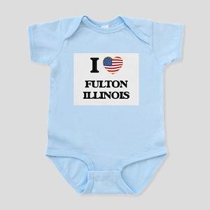I love Fulton Illinois Body Suit
