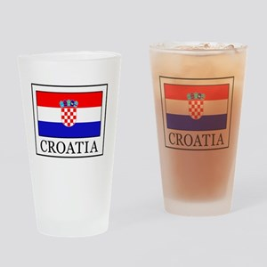 Croatia Drinking Glass
