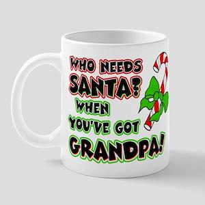 Santa? Grandpa! Mug
