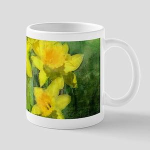 Daffodil Art Mug