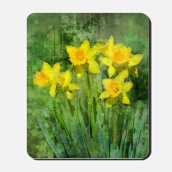Daffodil Art Mousepad