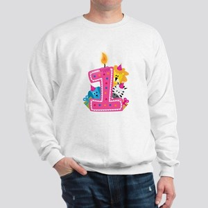 First Birthday Sweatshirt