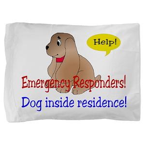 dogalert01 Pillow Sham