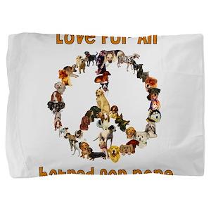 peacedogs01a Pillow Sham