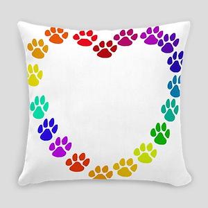 Cat Heart Everyday Pillow