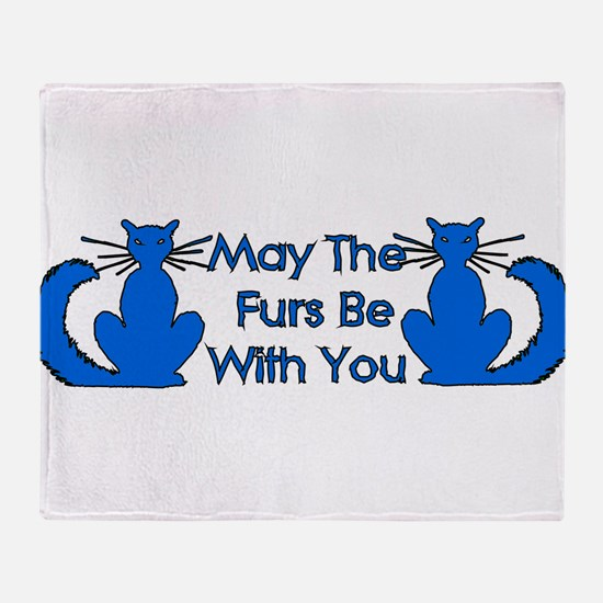 cat_galaxy01.png Throw Blanket
