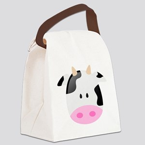 Cow Canvas Lunch Bag