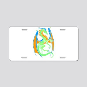 Magical Dragon Art Aluminum License Plate