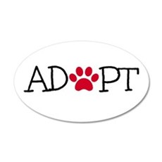 Adopt Wall Decal