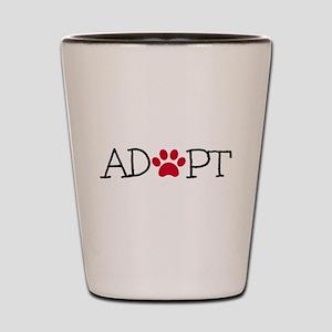 Adopt Shot Glass