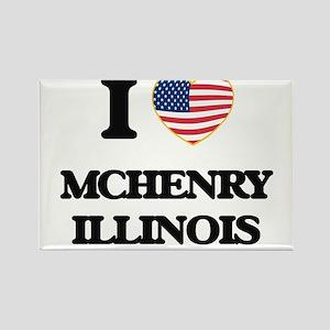 I love Mchenry Illinois Magnets