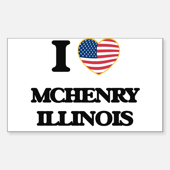 I love Mchenry Illinois Decal
