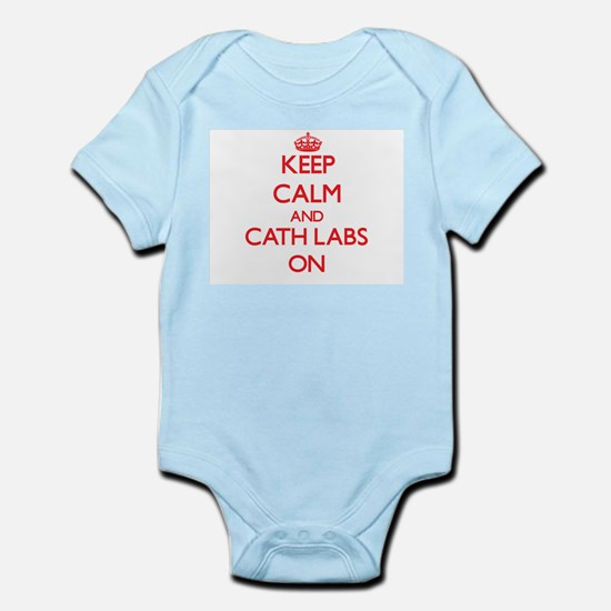 Keep Calm and Cath Labs ON Body Suit