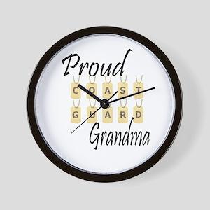 CG Grandma Wall Clock
