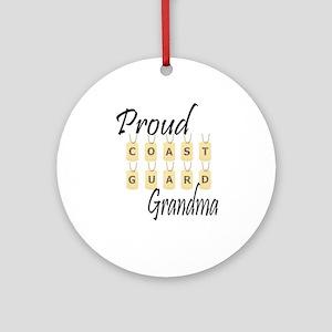CG Grandma Ornament (Round)