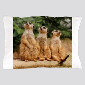 Meerkat_2015_0101 Pillow Case