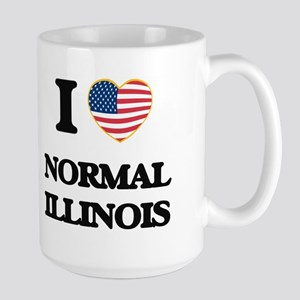I love Normal Illinois Mugs