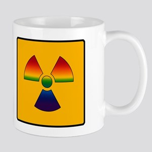 Gay Pride - Gay Radiation Sign Mug